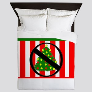 Say NO To Christmas? Queen Duvet