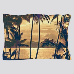 Tropical Silhouettes Pillow Case