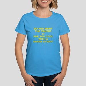 Women's Dark T-Shirt - Shark Story