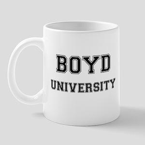 BOYD UNIVERSITY Mug