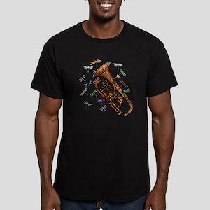 Wild Baritone Men's Fitted T-Shirt (dark)