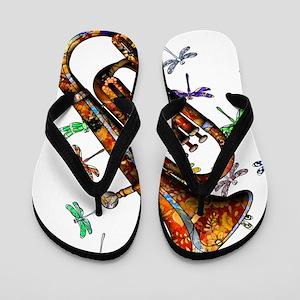 Wild Baritone Flip Flops