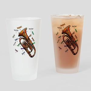 Wild Baritone Drinking Glass
