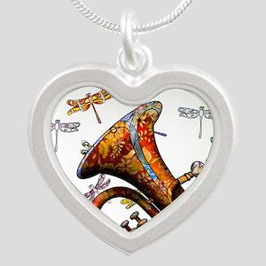 Wild Baritone Silver Heart Necklace