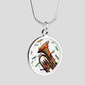 Wild Baritone Silver Round Necklace