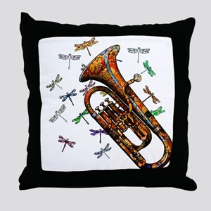 Wild Baritone Throw Pillow