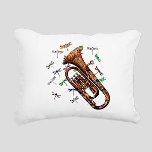 Wild Baritone Rectangular Canvas Pillow