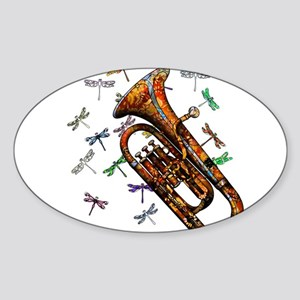 Wild Baritone Sticker (Oval)