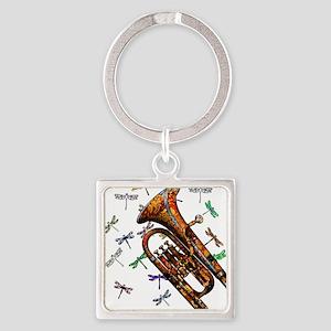 Wild Baritone Square Keychain