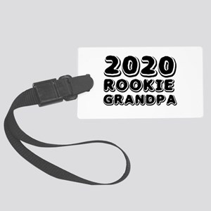 2018 Rookie Grandpa Large Luggage Tag