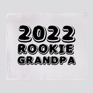 2018 Rookie Grandpa Throw Blanket