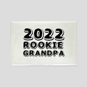 2018 Rookie Grandpa Rectangle Magnet