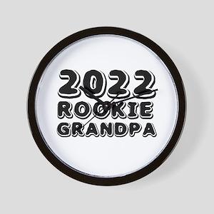 2018 Rookie Grandpa Wall Clock