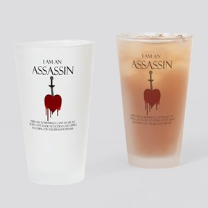 I am an Assassin Drinking Glass