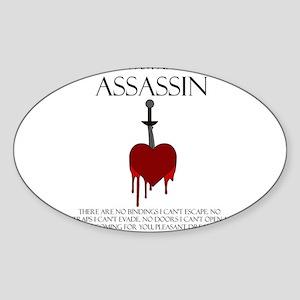 I am an Assassin Sticker