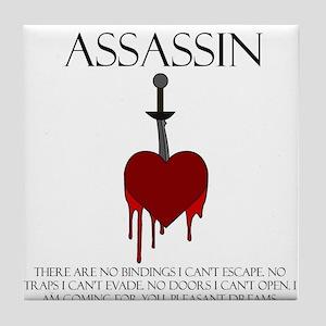 I am an Assassin Tile Coaster