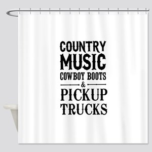 Country Music, Cowboy Boots & Pickup Trucks Shower