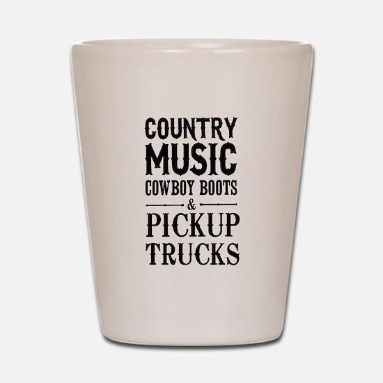 Country Music, Cowboy Boots & Pickup Trucks Shot G