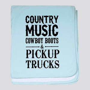 Country Music, Cowboy Boots & Pickup Trucks baby b