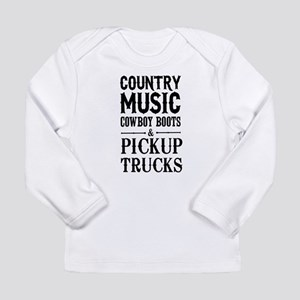 Country Music, Cowboy Boots & Pickup Trucks Long S