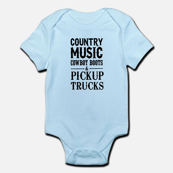 Country Music, Cowboy Boots & Pickup Trucks Body S
