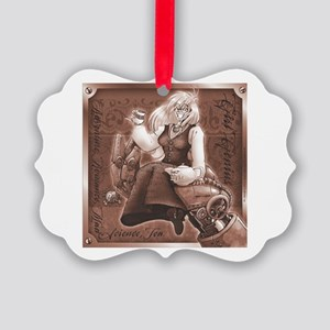 Mad Teatime Picture Ornament
