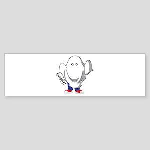Ghostly Bumper Sticker