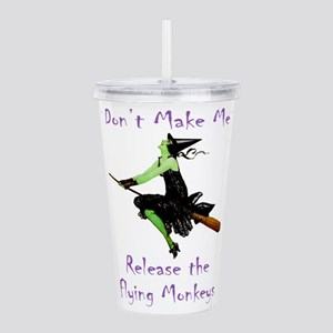 WITCH_Flying Monkeys 5 Acrylic Double-wall Tum