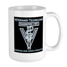 Vet Tech Radiology Strengths Mug Mugs