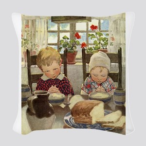 A Childs Book Of Old Verses002 Woven Throw Pil