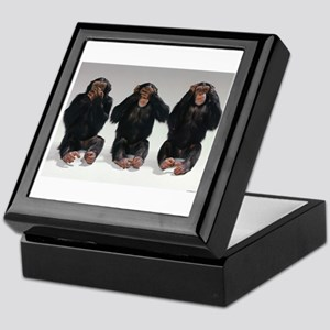 monkeys Keepsake Box