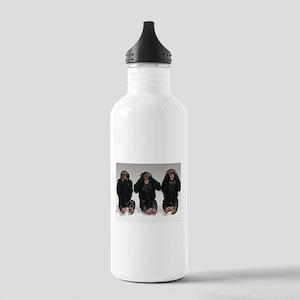 monkeys Stainless Water Bottle 1.0L