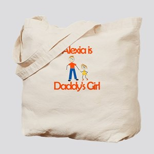 Alexia is Daddy's Girl Tote Bag