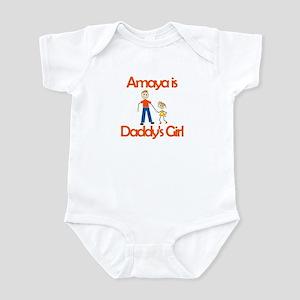 Amaya is Daddy's Girl Infant Bodysuit