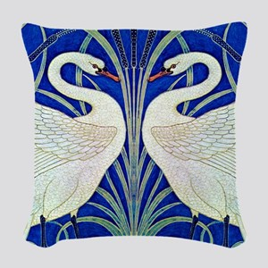 NEW SWAN 22507_1010300 Woven Throw Pillow
