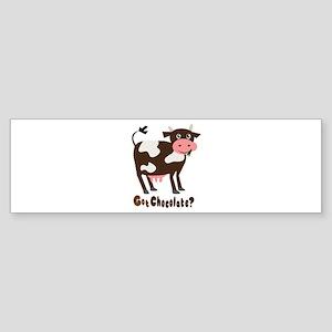 Got Chocolate Bumper Sticker