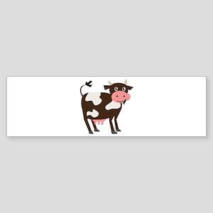 Dairy Cow Bumper Sticker