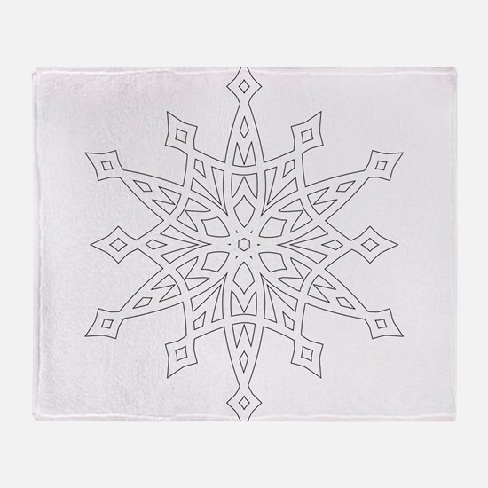 Snowflake Throw Blanket