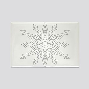 Snowflake Magnets