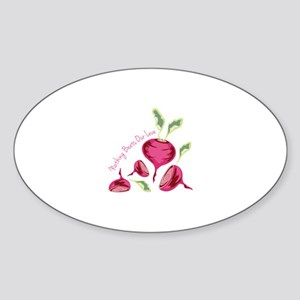 Beets Our Love Sticker
