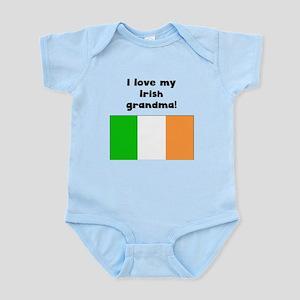 I Love My Irish Grandma Body Suit