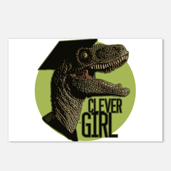 Clever Girl Postcards (Package of 8)