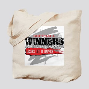 Winners and Losers Softball Tote Bag