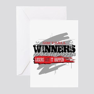 Winners and Losers Softb Greeting Cards (Pk of 10)