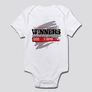 Winners and Losers Softball Infant Bodysuit
