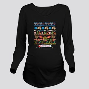 EveryHoliday Long Sleeve Maternity T-Shirt