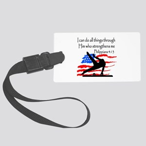 WINNING GYMNAST Large Luggage Tag