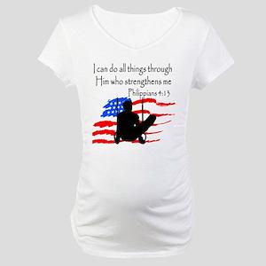 WINNING GYMNAST Maternity T-Shirt
