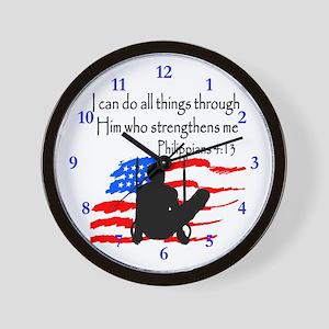 WINNING GYMNAST Wall Clock