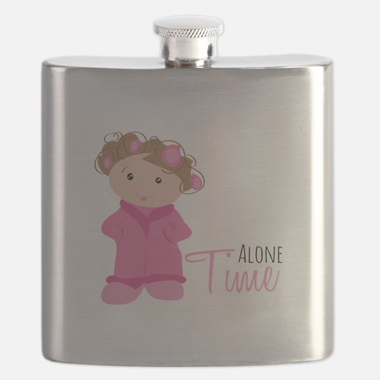 Alone Time Flask